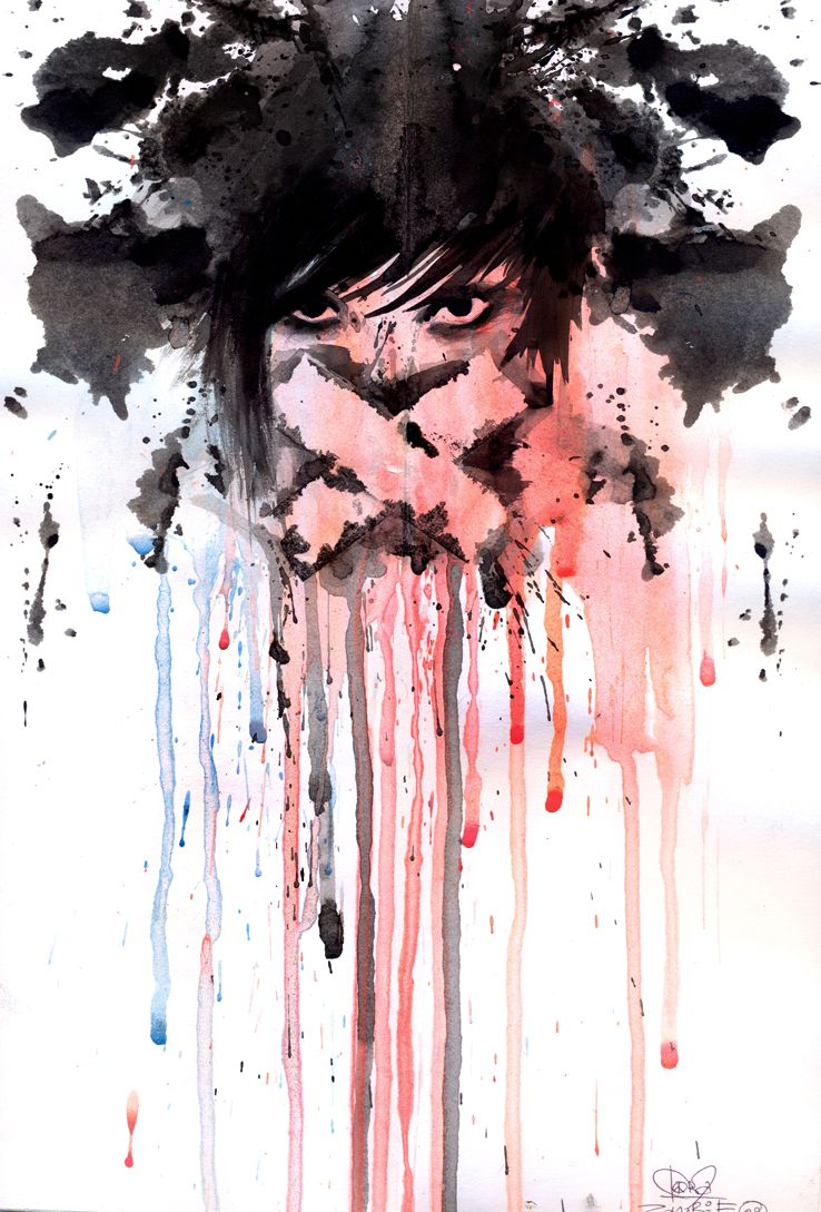 Seriously Cool Watercolor Painting Produccion Artistica Arte