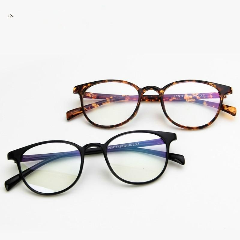 2020 New Retro Fashion Glasses Frame Computer Nerd Unisex Optical Spectacle Frames For Men and Women