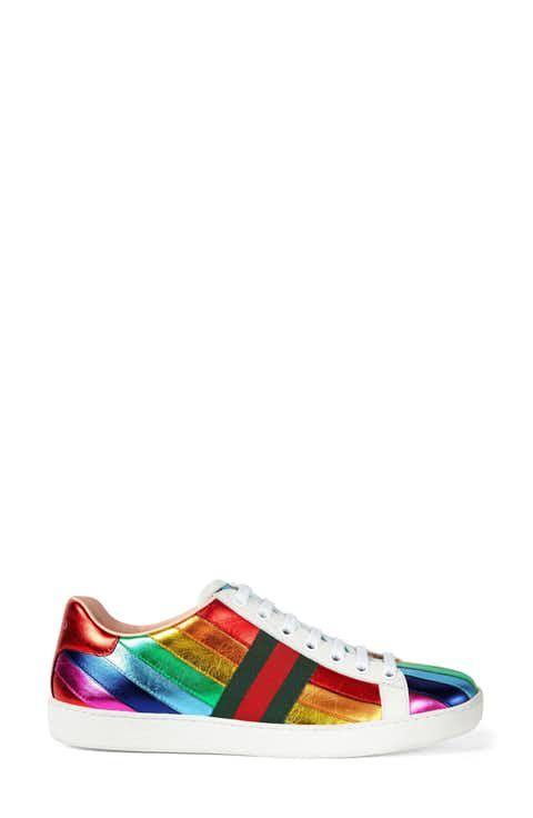 898b54bb422 Gucci New Ace Rainbow Sneaker (Women)