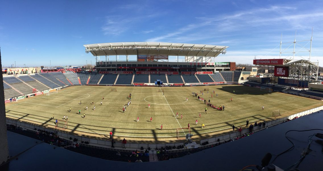 Toyota Park, Bridgeview Il. Home Of Chicago Fire.