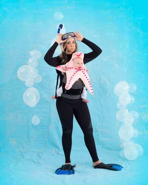 Starfish Baby Costume Halloween I Karneval Fasching