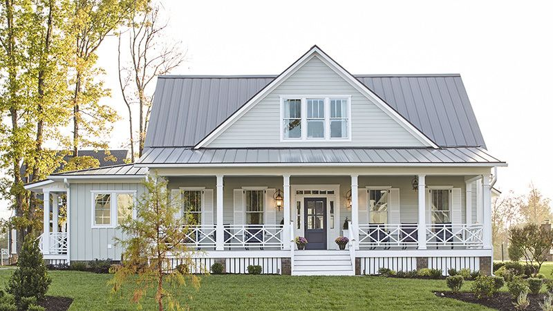 Gilliam On Hallsley Street Of Hope Modern Farmhouse Plans Southern Living House Plans House Plans Farmhouse
