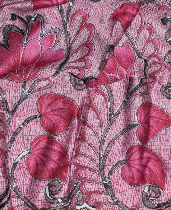 Dámska hodvábna šatka ružová 26b94c5efcb