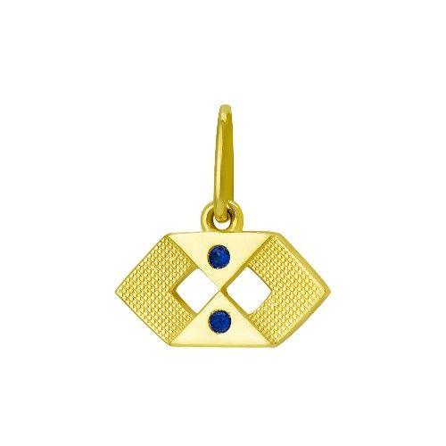 Pingente em Ouro 18k de Formatura com Símbolo de Administração PI17686 -  Joiasgold.  formatura  pingente  joia  administração bb096f912d