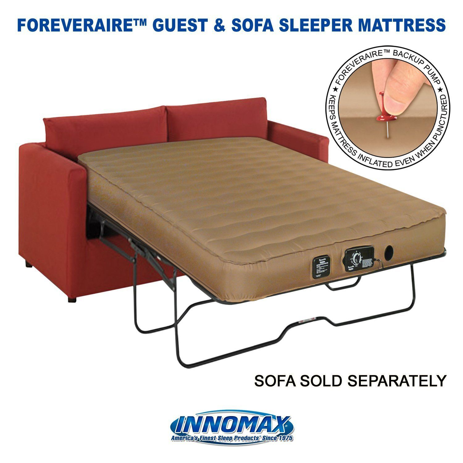 Automatic Sleeper Sofa Queen Size Air Mattress For Rv Sofa