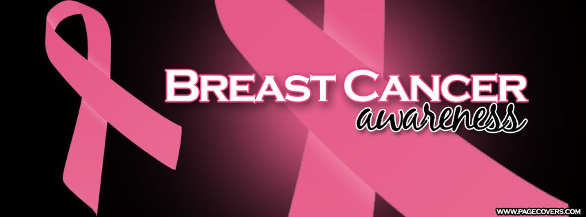 Breast Cancer Ribbon Awareness Facebook Cover