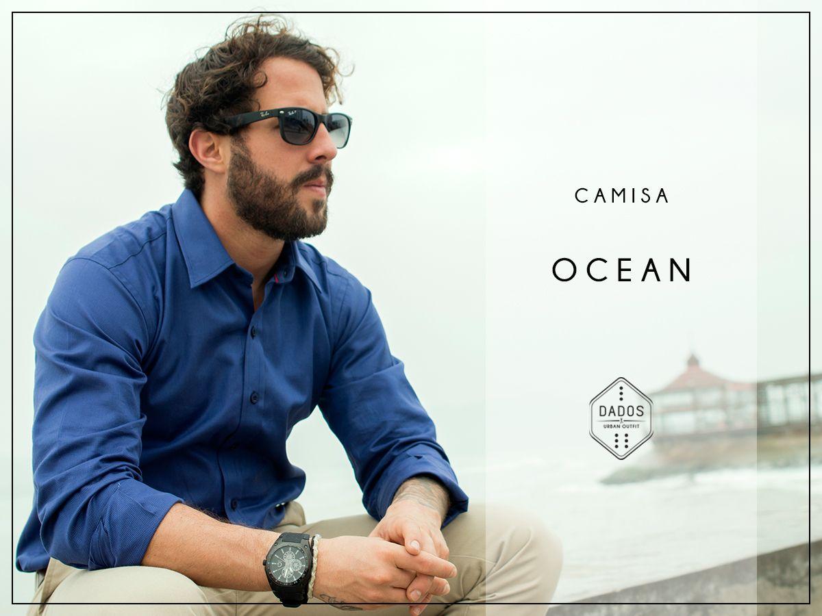 Camisa OCEAN 100% Algodón Pima Slim Fit Tallas: S - M - L  Encuéntrala en: -Showroom (previa cita) -Vernacula  +Delivery gratis a todo el Perú.