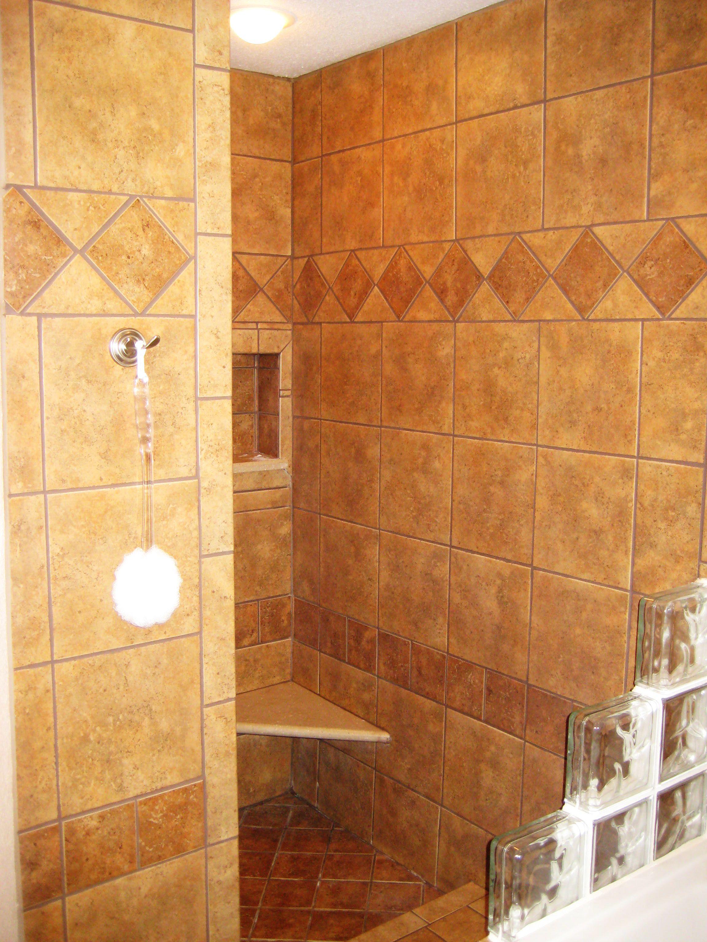 walk in shower pictures | Gallery Custom walk-in shower ...