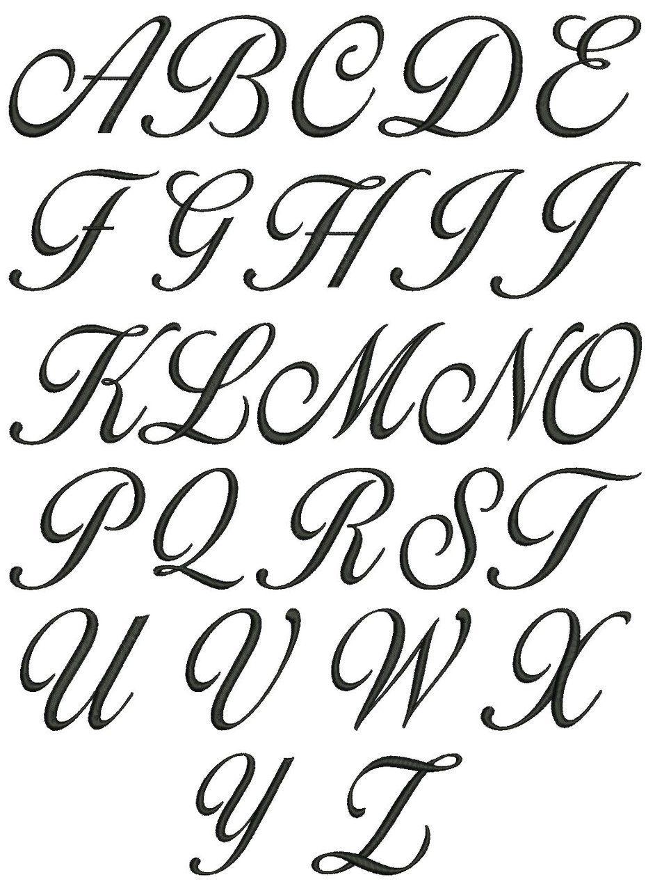 Шрифты букв для оформления открыток, открытки виде рубашки