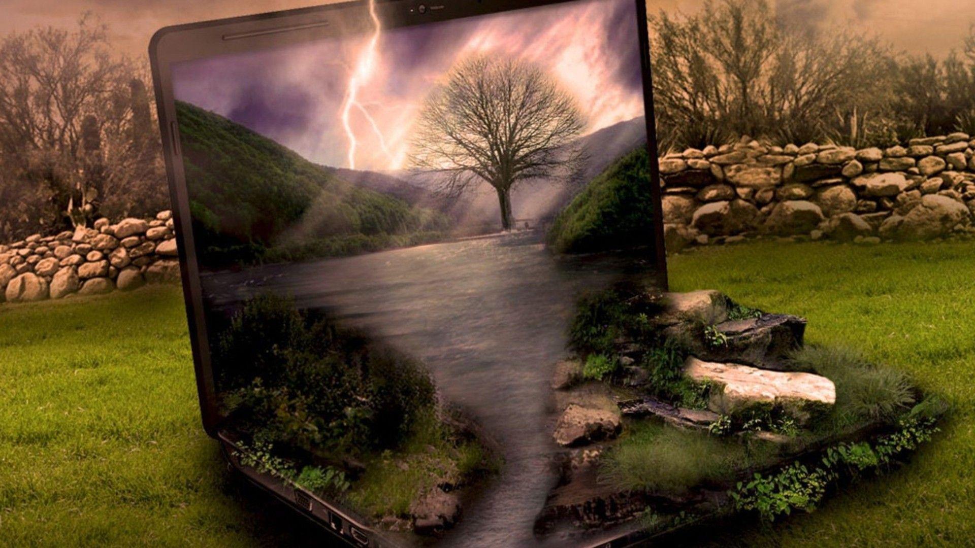 When Nature Meets Technology Nature Pics Techstuff Laptop Wallpaper Hd Wallpapers For Laptop Nature