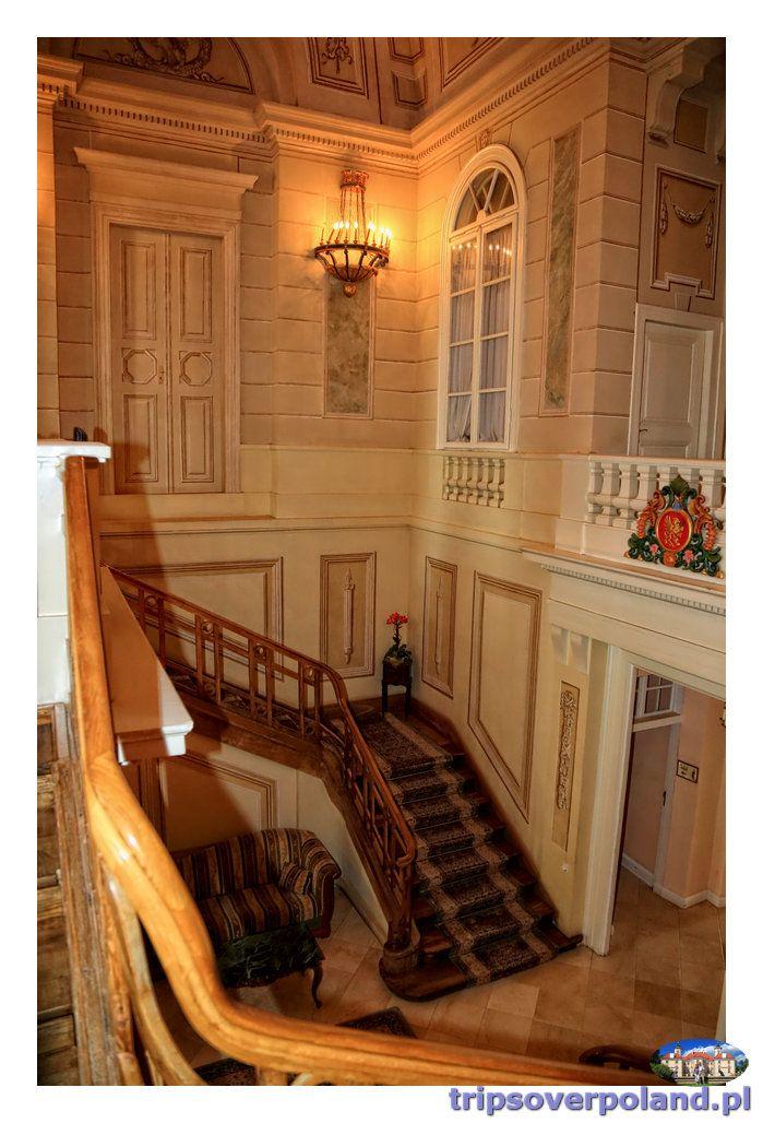 Sterdyń - Pałac Ossolińskich