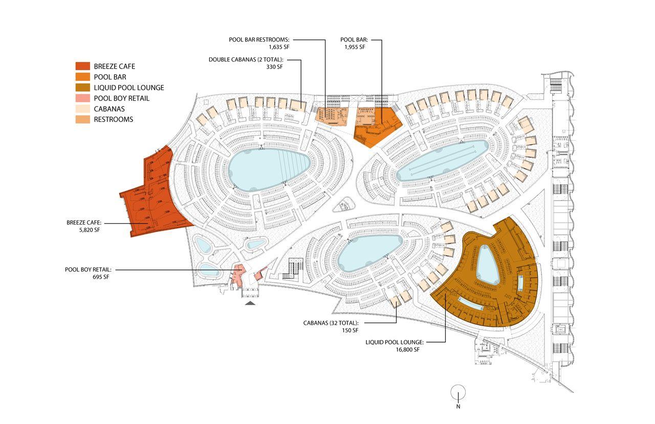 City Center Aria Pool Deck Undisclosable Pool Deck Pool Deck