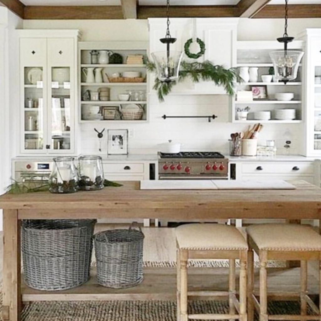 Farmhouse Kitchen Ideas Pictures Of Country Farmhouse Kitchens On A Budget New For 2021 Farm Style Kitchen Farmhouse Kitchen Decor Home Decor Kitchen