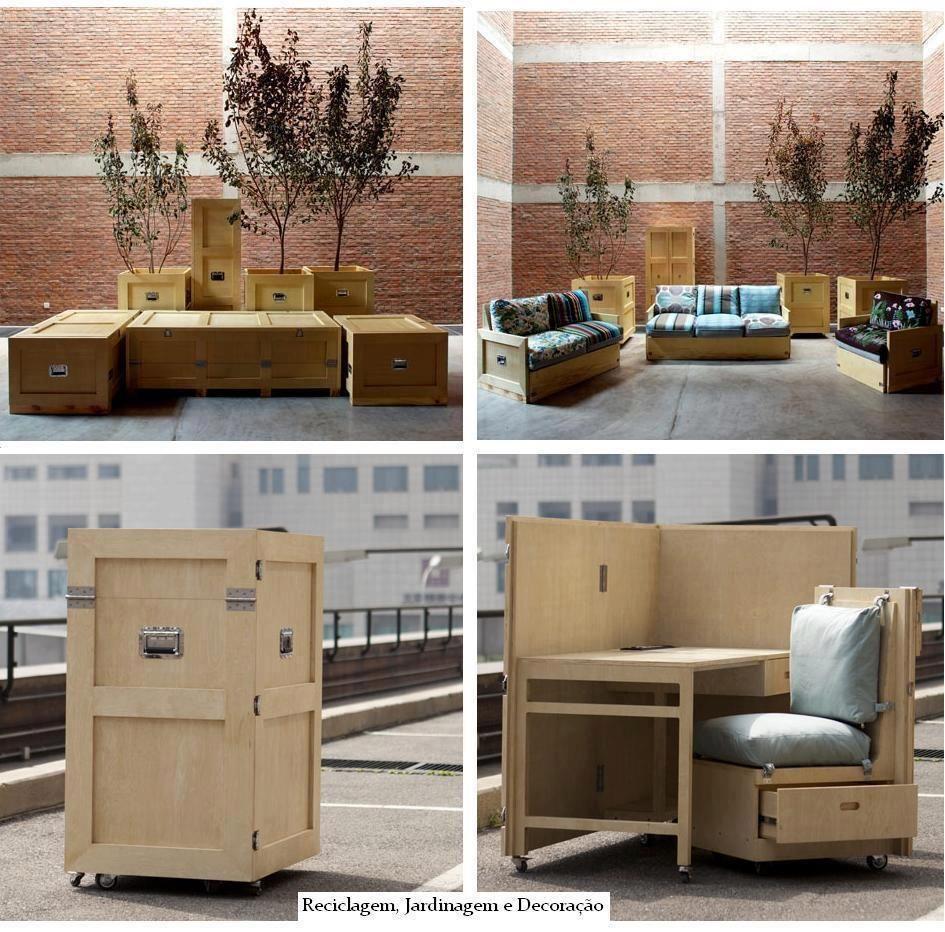 Www Eniando Blogspot Com Arquitectura Cajas Multiuso Dise O  # Muebles Multifuncionales Para Espacios Pequenos