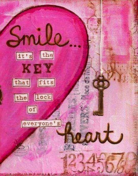 La sonrisa es la llave