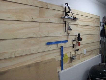 French Cleat System Used Woodworking Tools French Cleat