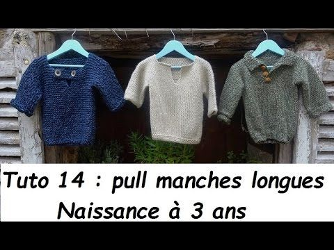 TUTO PALETOT A CAPUCHE BEBE AU TRICOT FACILE hooded cardigan