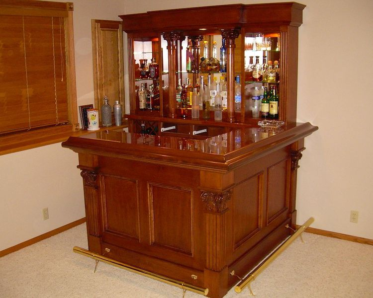 Great Custom Home Bar Furniture