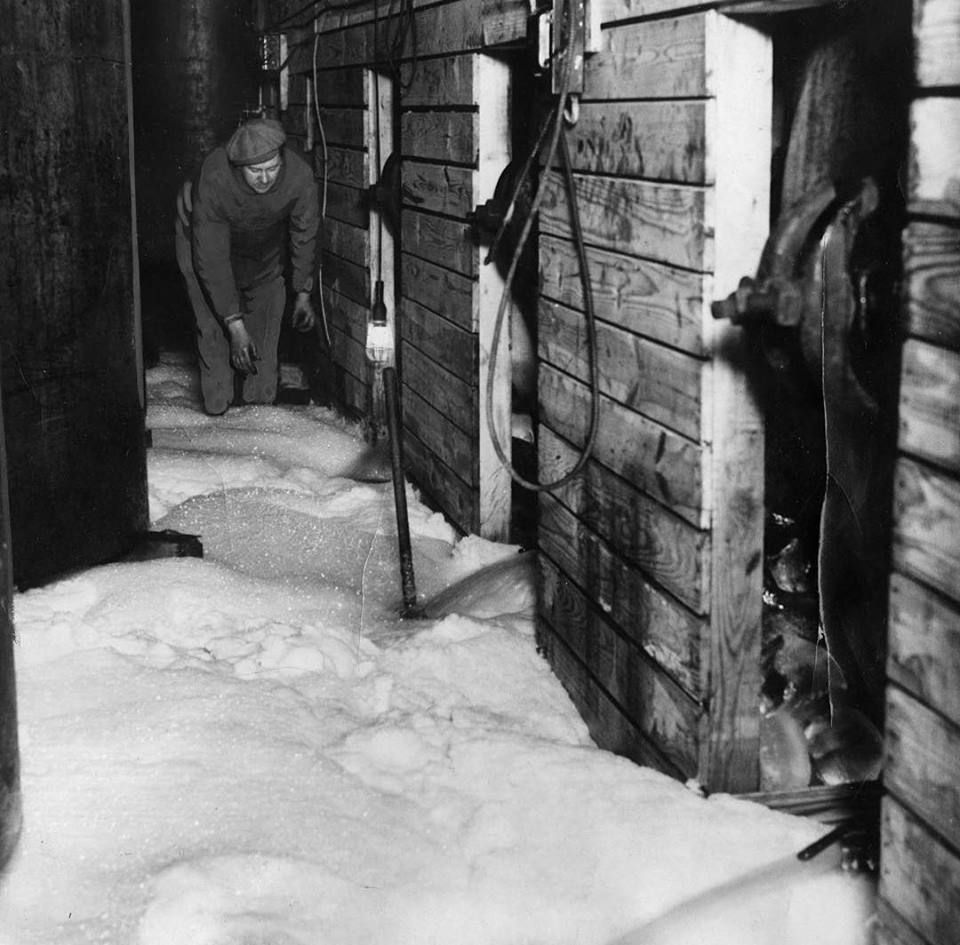 Foam From Confiscated Beer Floods A Makeshift Brewery After Prohibition Agents Emptied Illegal Vats Of Beer At 1642 S C History History Fair Tribune
