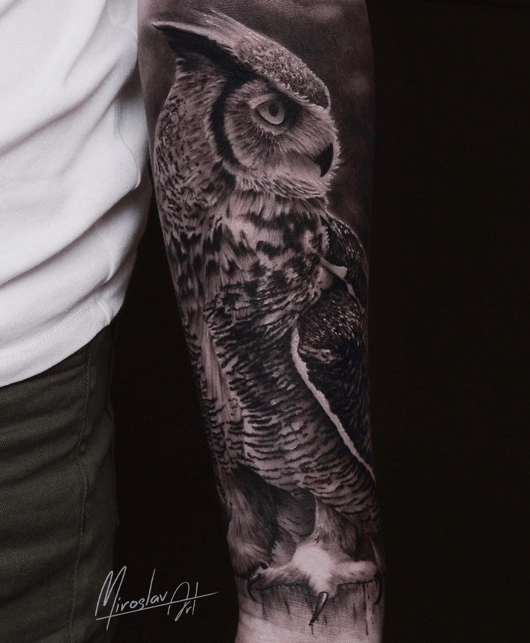 73 Best Owl Tattoos Design Ideas December 2020 Owl Tattoo Owl Tattoo Design Owl Tattoo Meaning