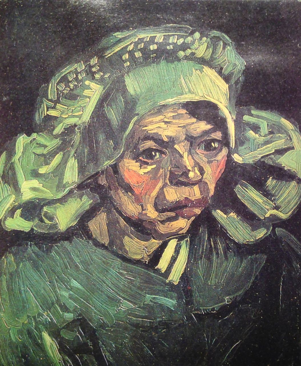 Vincent van Gogh. Head of a Peasant Woman with White Cap. Neunen, May 1885. Oil on canvas, 43.5x35.5cm. Amesterdam, Van Gogh Museum (Vincent van Gogh Foundation)