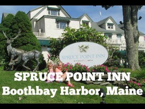 The Monsters Visit Spruce Point Inn Boothbay Harbor Maine Boothbay Boothbay Maine Inn