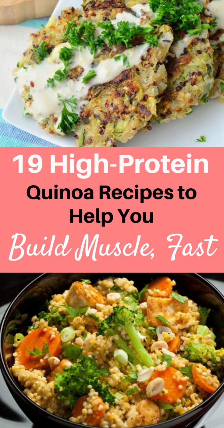 Photo of 19 High-Protein Quinoa Recipes to Help You Build Muscle, Fast