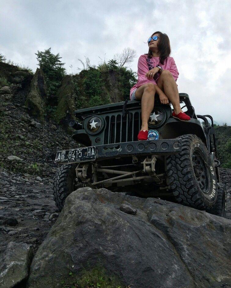 Gunung merapi yogyakarta monster trucks abs journey