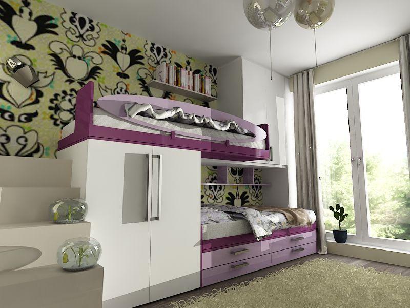 n u00e1vrh detskej izby cu interiors ideas of children room