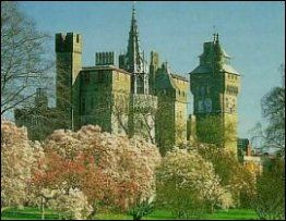 Cardiff Castle - Wales. Had our European wedding reception in Wales, 1987! #visitwales