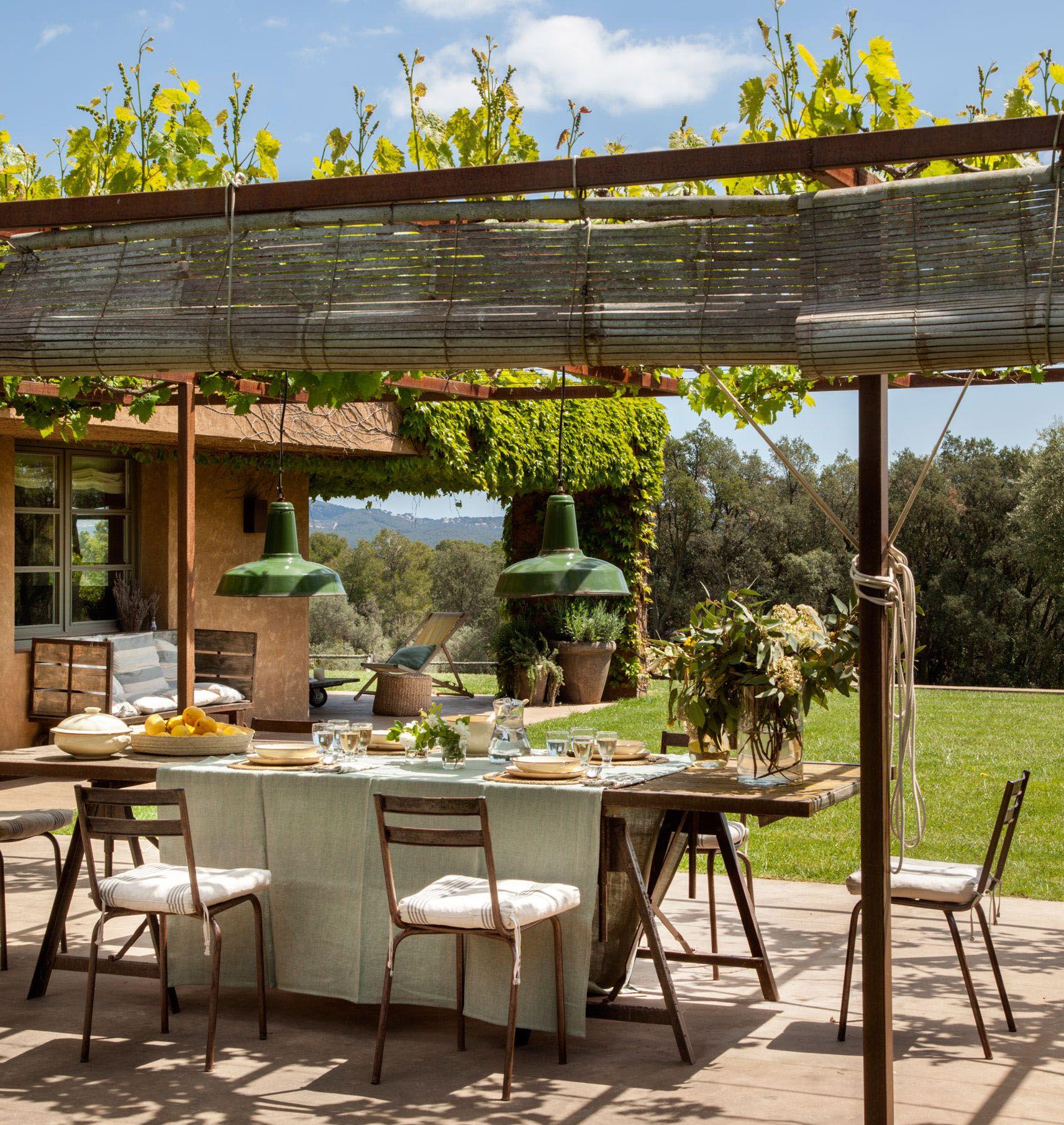 Para foodies outdoors ideas casas de campo decoraci n - Patios exteriores decoracion ...
