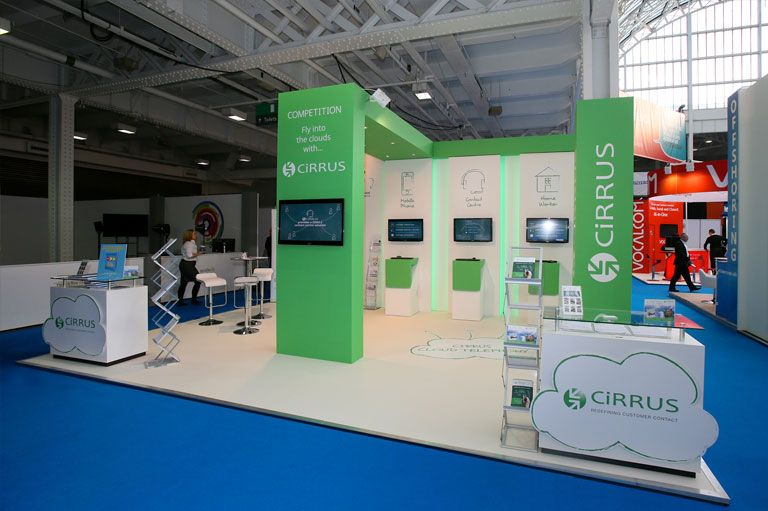 International Exhibition Stand Design : Custom stand design modular system built exhibition