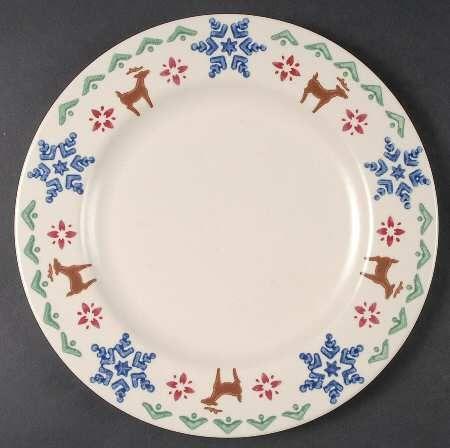 Pfaltzgraff Nordic Christmas Dinner Plate & Pfaltzgraff Nordic Christmas Dinner Plate | german folkart | Pinterest