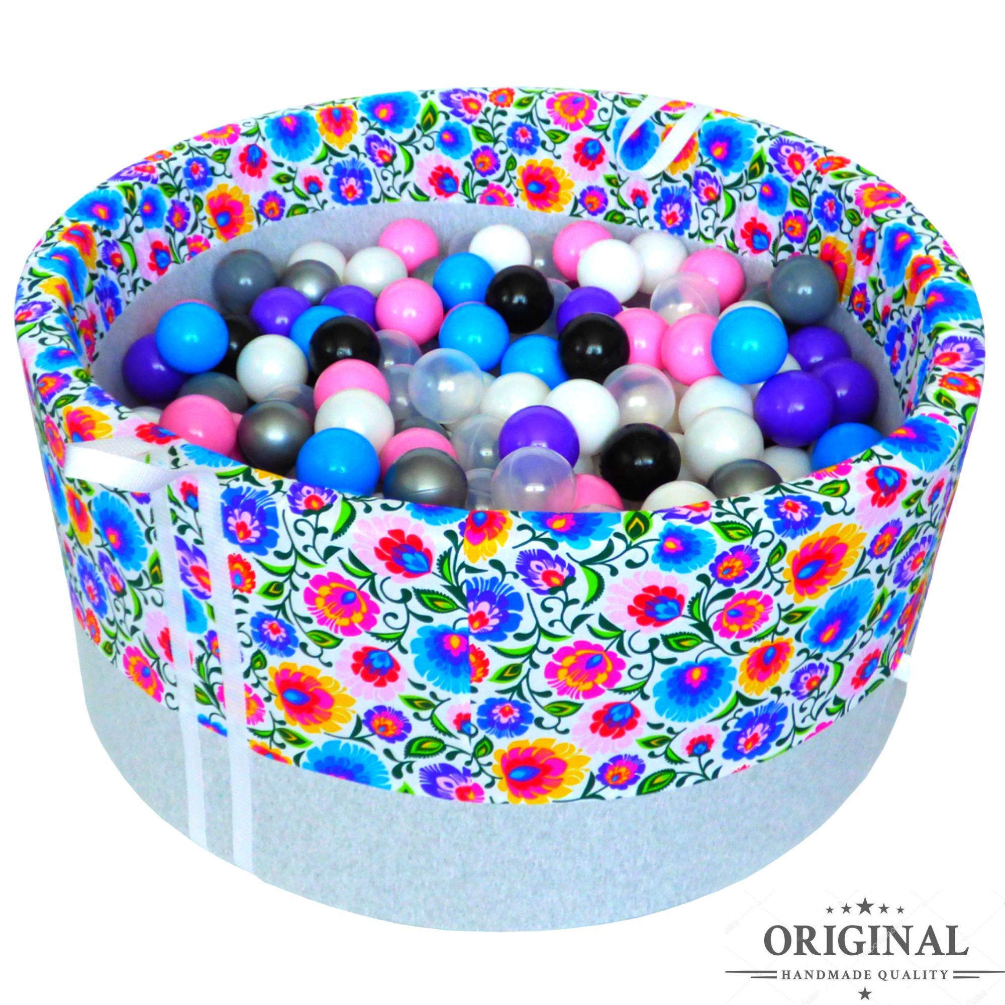 Suchy Basen Z Pilkami Babyball Pool Balls Handmade Ball