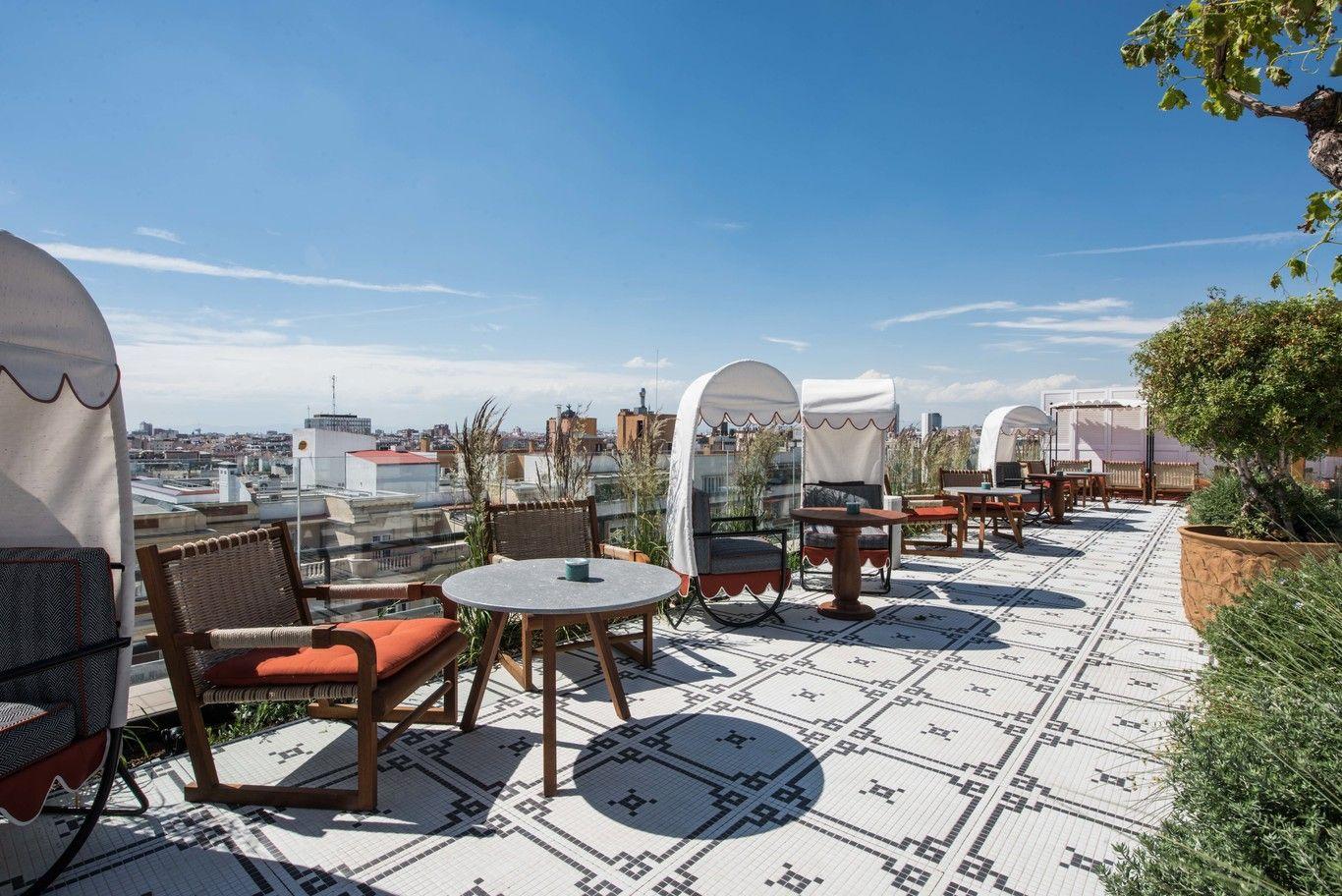 Apunta Las Terrazas De Moda Mas Bonitas De Madrid Decotherapy Terrazas Vistas Hotel De Lujo