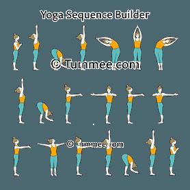 egyptian sun salutation sequence yoga designed