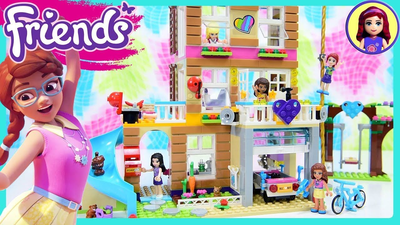 Lego Friends Friendship House Part 2 Clubhouse Build Review Silly