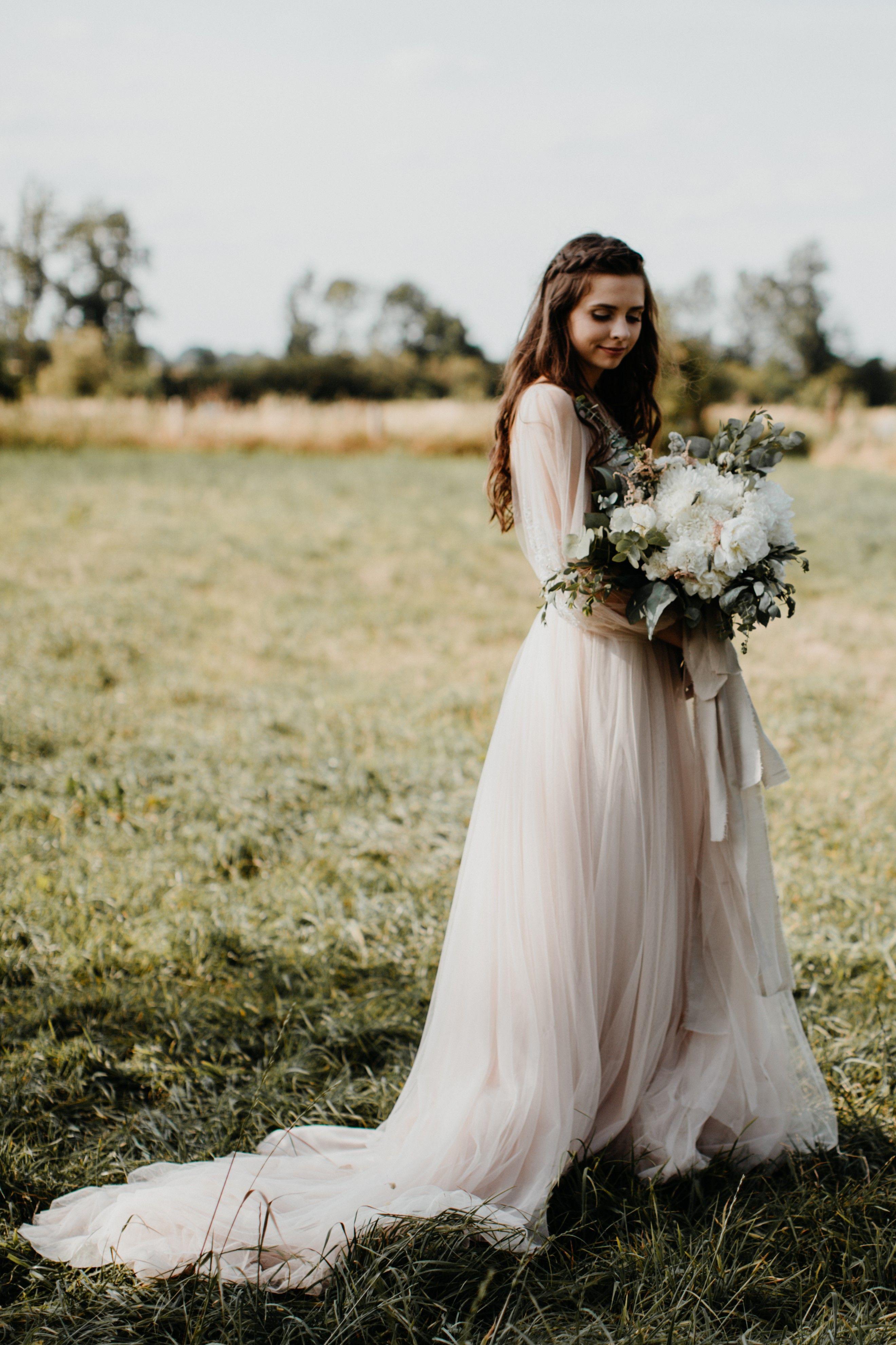 Country Wedding Boho Style With Iayrealbride Elli Hochzeit I Kleid