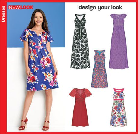 NEW LOOK 6864   Clothes   Pinterest
