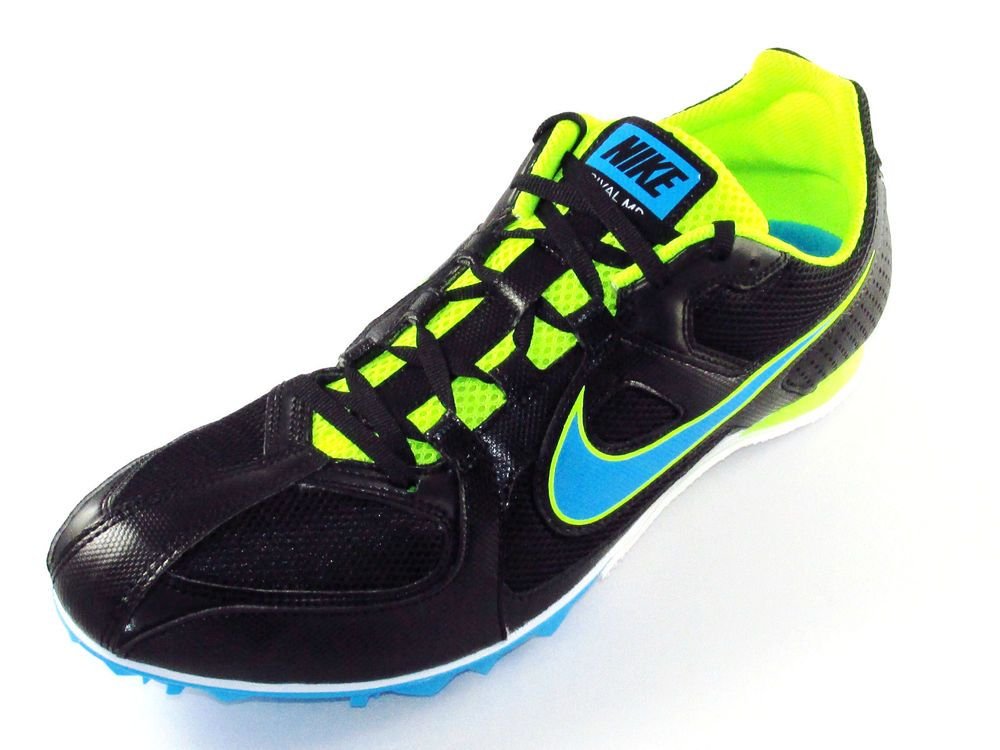 Nike Zoom Victory Middle Distance Running Spikes Mens Blue