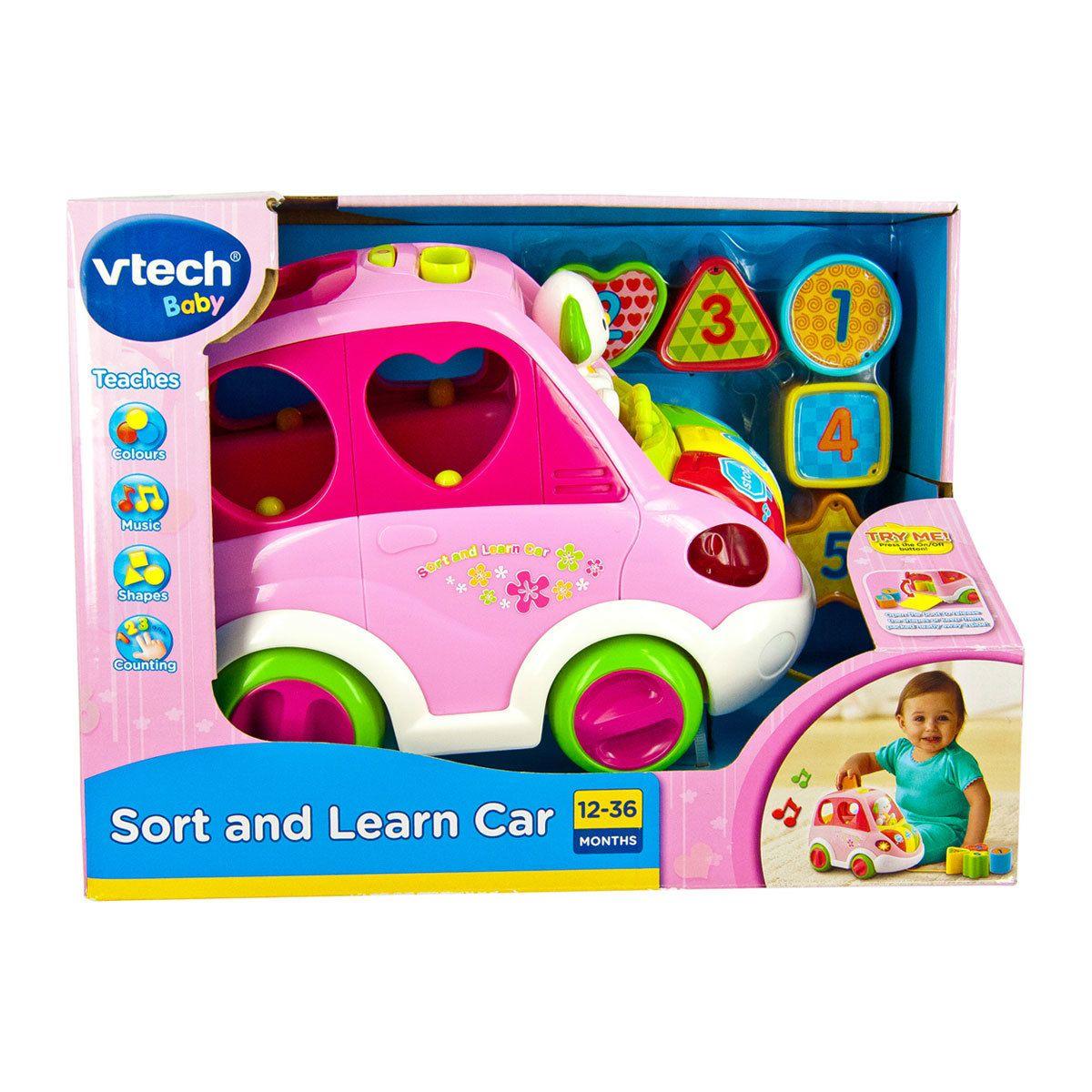 Vtech Sort Amp Learn Car