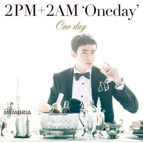 NICHKHUN] 2PM+2AM 'ONE DAY' Japanese Single Album, 2PM's Nichkhun