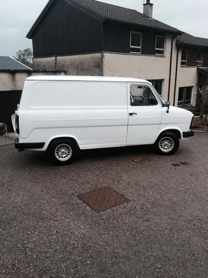 Mk2 Transit Van Turbo Diesel Power Steering Ford Classic Retro Rally Ebay Commercial Vehicle Ford Transit Vans