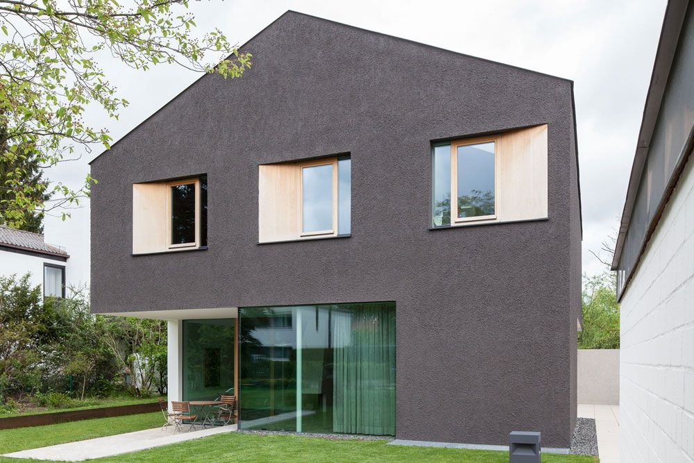mehrwert durch subtraktion einfamilienhaus in krailling. Black Bedroom Furniture Sets. Home Design Ideas