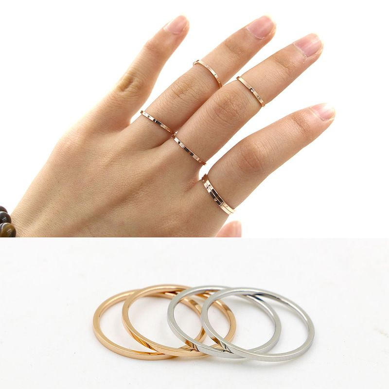 hot sale simple new design female ring cute thin forefinger tail ...