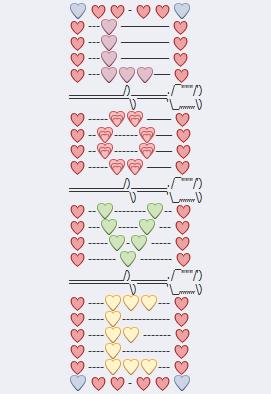 Love Text Art : Emoji, Texts