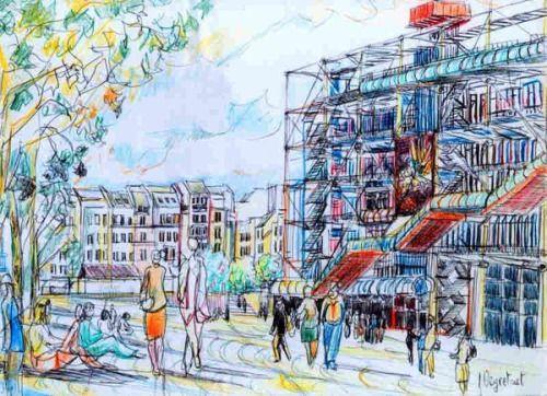 Beaubourg, Centre Pompidouu201d, Laurent Veyretout Architecture - Le - site de construction de maison virtuel gratuit