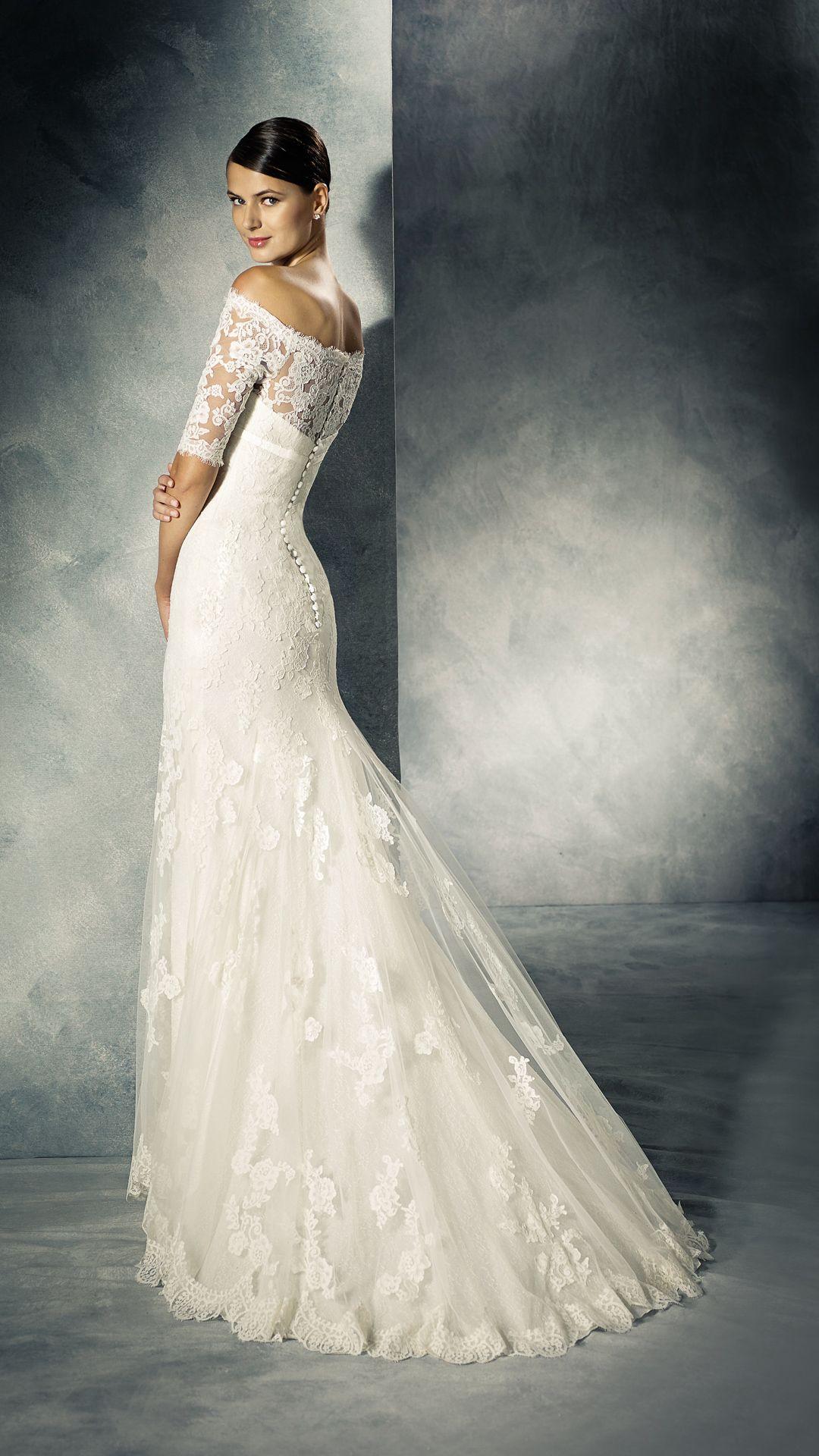 Brautkleid-White-One-Kollektion-Modell-JENNIFER-C  Kleid hochzeit