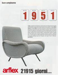 ARFLEX - POLTRONA LADY DESIGN MARCO ZANUSO   Anni \'50   Pinterest
