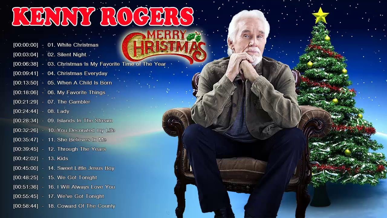 Kenny Rogers Christmas | www.topsimages.com